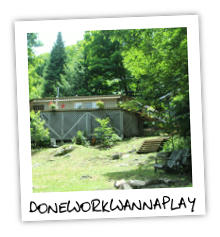 DoneWorkWannaPlay on Little Kennisis Lake - Haliburton Highlands