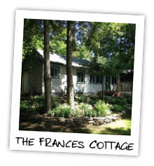The Frances Cottage on Twelve Mile Lake in the Haliburton Highlands