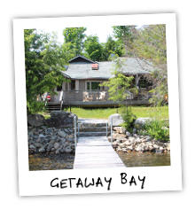 Getaway Bay - Little Redstone Lake - Haliburton Ontario