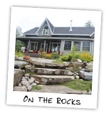 On The Rocks - Kennisis Lake Haliburton
