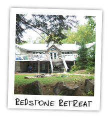 Redstone Retreat on Redstone Lake
