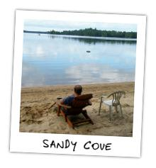 Sandy Cove Cottage on Kennisis Lake