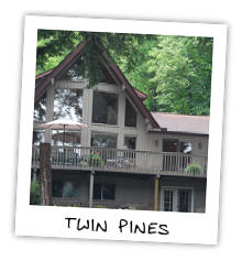 Twin Pines on Little Kennisis Lake