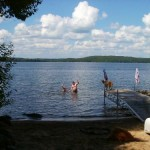Miles of pristine lake. Dog friendly. Marina and small store within a mile of cottage.