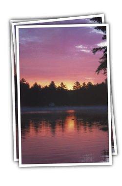 Sunset at Lavender Sky
