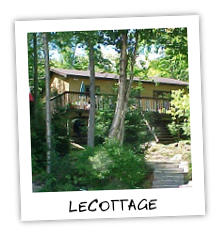 LeCottage - Little Kennisis Lake - Haliburton Highlandsq