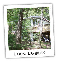 Loon Landing Cottage on Kennisis Lake