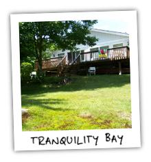 Tranquility Bay Cottage on Redstone Lake