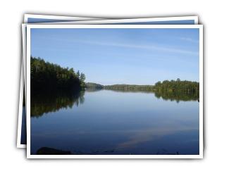 Loon Landing - Kennisis Lake