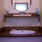 Main level bathroom.  3 piece with shower.