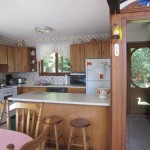 Open concept kitchen/dining room. All the amenities including dishwasher and microwave.