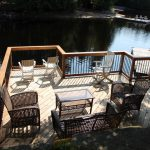 New lakeside deck