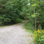 Easy access driveway