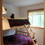 4th bedroom. New cedar twin bunks