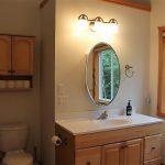 Vanity in the upstairs 4 - piece bathroom