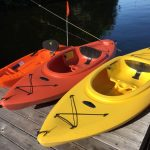 Lots of watercraft provided for your enjoyment