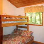 3rd bedroom. Bunks (double on bottom) plus trundle