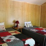 2 double beds in bunkie