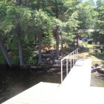 Cottage is situated close to the water