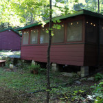 Cottage, bunkie, patio
