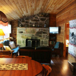 Comfortable, relaxing and delightfully rustic living area