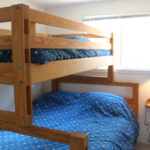 Main cottage, Bunks (double on bottom)