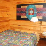 Cabin, double bedroom