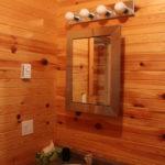 Vanity in cabin