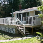 New deck railings