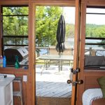 Step out onto front deck