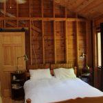 Bedroom 1, with skylight. Queen