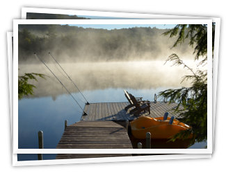 Getaway Bay - Little Redstone Lake - Haliburton Highlands