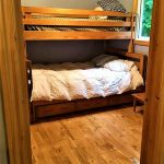 2nd bedroom: bunks: double on bottom, single on top and trundle