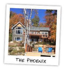 The Phoenix - Little Kennisis Lake - Haliburton Highlands Ontario