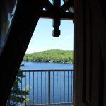 View from loft balcony
