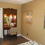 Recessed vanity in 3rd bedroom, upstairs