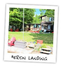 Heron Landing - Glamor Lake - Gooderham Ontario