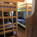 3rd bedroom, 2 sets of extra tall bunk beds (4 singles)