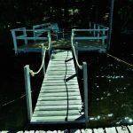 Walkway to dock
