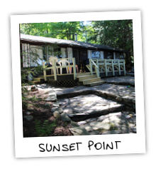 Sunset Point - Kennisis Lake - Haliburton Ontario