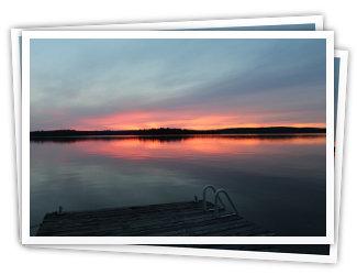 Sunset Point - Kennisis Lake - Haliburton Ontario