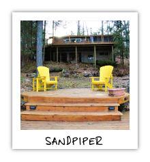 Sandpiper - Little Kennisis Lake - Haliburton Ontario