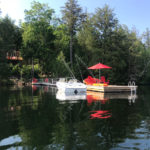 Lakeside Magic. Extensive docking. Deep water swimming off dock. Canoe, paddleboard 3 kayaks and windsurfer!