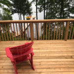 Deck and dock furniture
