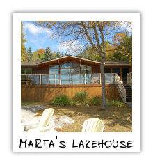 Marta's Lakehouse - Kennisis Lake - Haliburton Highlands