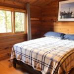 2nd bedroom. Queen. Cedar-finished.
