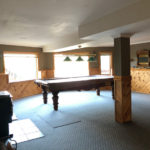 Billiards room, lower level