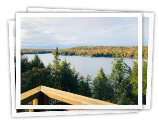 The View - Little Kennisis Lake - Haliburton Ontario