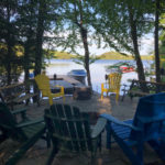Cottage situated close to the lake. New docking and fire pit.