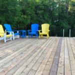 Spacious dock